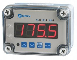 IP67 Modbus RS-485 Input 4 Digit Process Indicator