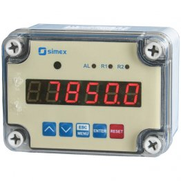 IP67 Electronic counter, 2xREL, RS 485, 24V