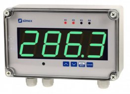 IP67 Large Process Meter with 2 Relay and RS485