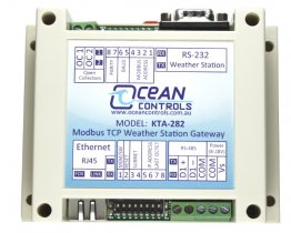 KTA-282 Modbus TCP Weather Station Gateway