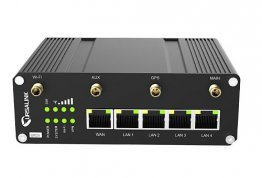 UR35 Industrial Cellular Router with WiFi and RS485