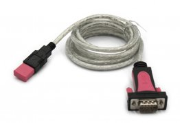Z-TEK ZE533C USB 2.0 to RS-232 Converter, 1.8 m Cable