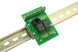 Universal Wiring Termination Board with 2 Relays for ToughSonic ultrasonic sensors
