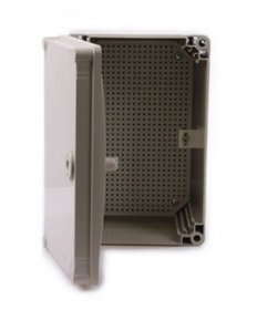 Grey CE Approved ABS Waterproof Enclosures. Size 400*300*160mm