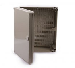 Grey CE Approved ABS Waterproof Enclosures. Size 500*400*190mm