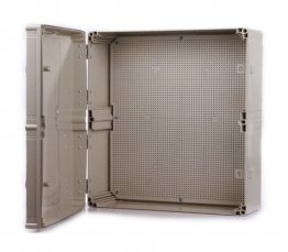 Grey CE Approved ABS Waterproof Enclosures. Size 600*500*190mm