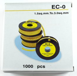 EC0-3 Cable Labels Box 1000