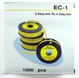 EC1-8 Cable Labels Box 1000