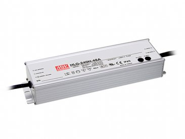 240W Mean Well HLG-240H-24 IP67 LED Power Supply 240W 24V