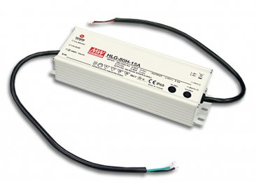 80W Mean Well HLG-80H-12 IP67 LED Power Supply 60W 12V