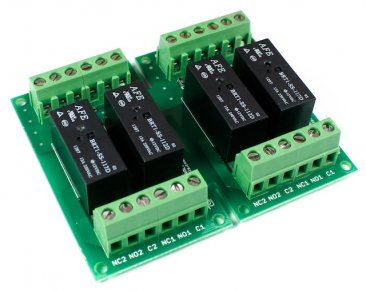 Four 12VDC Relay Card