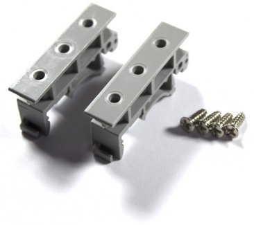 DIN Rail Mounting Clips (Pair)