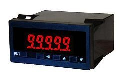 4-20 mA Loop Powered Process Indicator Red on Black (24x48mm)