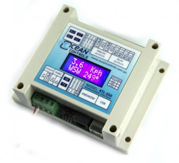 Anemometer Interface with LCD