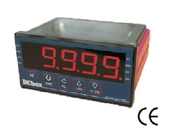 0-10V/0-5V/4-20mA Input 4 Digit Process Indicator 1 relay 24VDC (48x96mm)