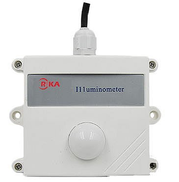 Rika RK210-01 Illuminance Sensor 0-20000 lux with 0 to 10VDC Output