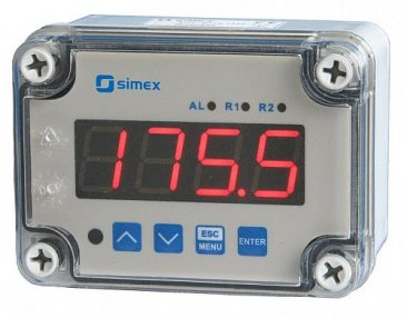 IP67 RTD Input 4 Digit Temperature Indicator