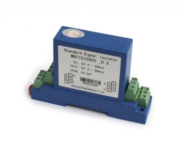 2 wire Signal Isolator 4-20mA In, 4-20mA Out