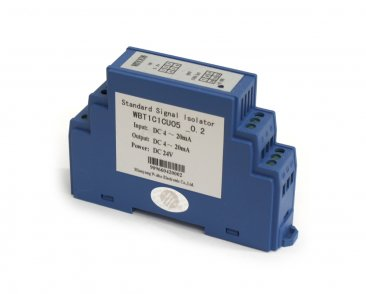 Signal Isolator Dual Channel 4-20mA In, 4-20mA Out, 24VDC Power