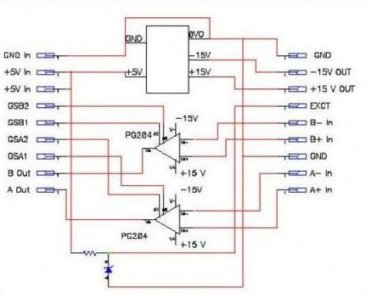 Dual Gain Instrumentation Amplifier