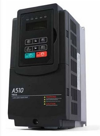 TECO A510 Advance Vector Control Variable Speed Drive 2.2/3.7KW  Three Phase Input
